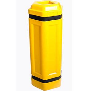 Addgards Slimline Yellow Column Protector