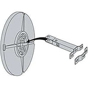 Vialux Circular Convex Safety Mirror