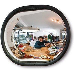 DETECTIVE Circular Wall-Mounted Convex Mirror