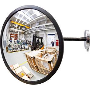 DETECTIVE Circular Internal Mirror with Magnetic Bracket