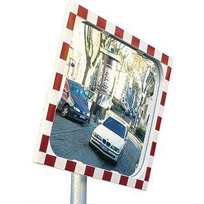 VIEW-ULTRA 1 Rectangular Heated Traffic Mirror 400mm x 600mm