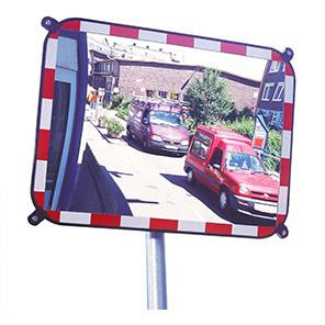 S-COMPACT Sekurit Rectangular Traffic Mirror