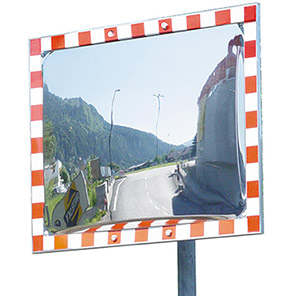 DURABEL IceFree Rectangular Traffic Mirror