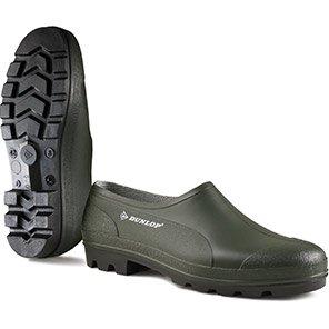 Dunlop Bicolour Green Non-Safety Wellington Shoes