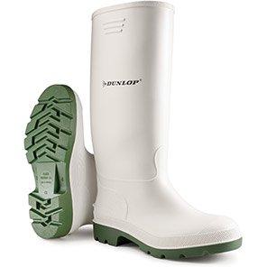 Dunlop Pricemastor White Non-Safety Wellington Boots