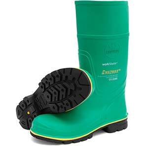 Workmaster Hazmax Green S5 Safety Wellington Boots
