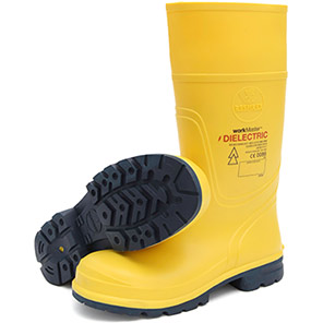 Workmaster Yellow Dielectric SB Safety Wellington Boots
