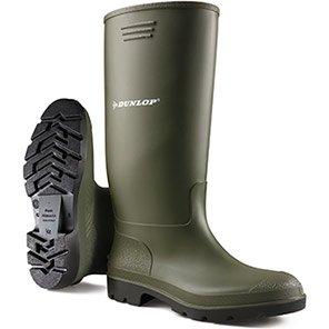 Dunlop Pricemastor Green Non-Safety Wellington Boots