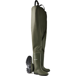 Dunlop Pricemastor Green Non-Safety Chest Waders