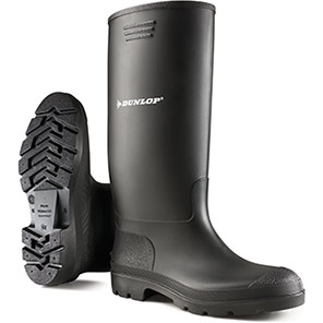 Dunlop Pricemastor Black Non-Safety Wellington Boots