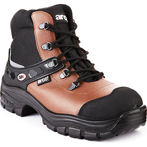 Arco ST210 Brown S1P Safety Boots
