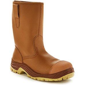 Arco Essentials Tan S1P Rigger Boots