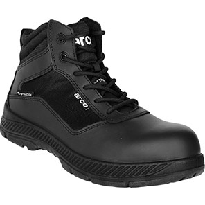 Arco ST910 Black S1P Safety Boots with Orthosole Insoles
