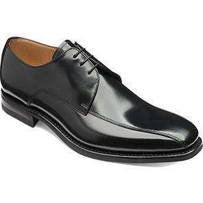 Loake 261B Black Derby Shoes
