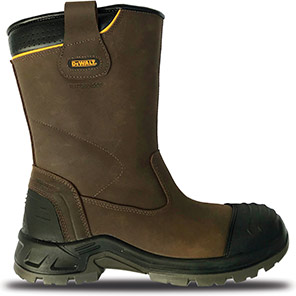 DEWALT Millington Brown S3 Safety Rigger Boots