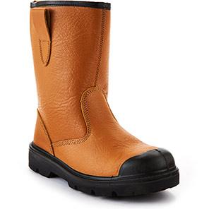 Arco Essentials Tan/Black Lined S1P Rigger Boots