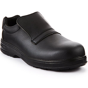 Arco Essentials Black Slip-On S2 Safety Shoes