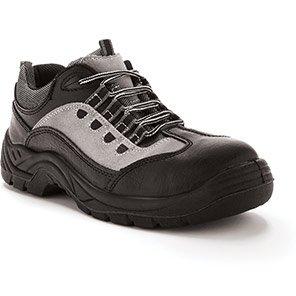 Arco Essentials S1P Safety Trainer Midsole Black/Grey