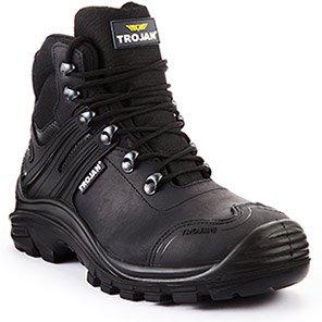 TROJAN Poseidon Black S3 Safety Boots