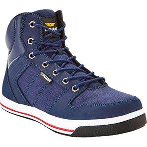 TROJAN Nireus Blue S1P Safety Hiker Boots