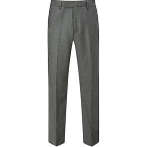 Skopes Wexford Men's Charcoal Suit Trousers