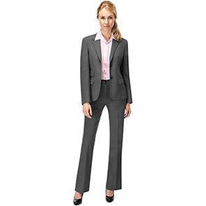Skopes Monique Women's Grey Wide-Leg Suit Trousers
