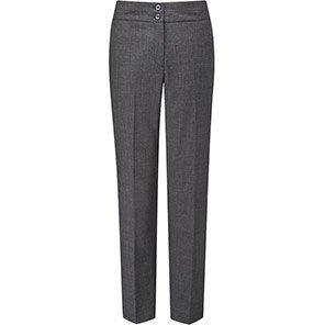 Skopes Carla Women's Charcoal Slim-Fit Trousers