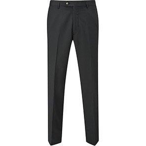 Skopes 24/7 Mode Darwin Men's Black Tailored Suit Trousers