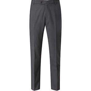 Skopes 24/7 Mode Darwin Men's Charcoal Tailored Suit Trousers