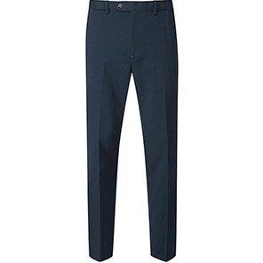 Skopes Antibes Men's Navy Tailored Chino Trousers