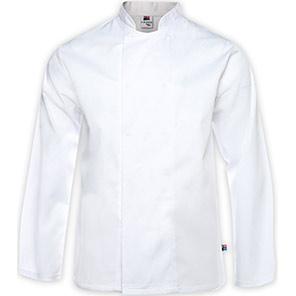 Tibard Black Long-Sleeve Classic Chef's Jacket