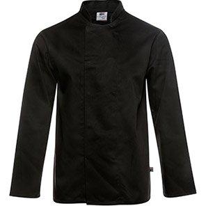 Tibard Black Breathable Long-Sleeve Chef's Jacket