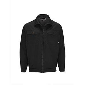 Trojan Industrially Launderable 9oz Zip Jacket Black