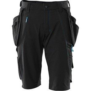 MASCOT Advanced Black Work Shorts