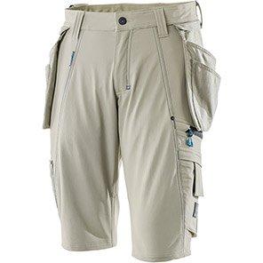MASCOT Advanced Khaki Work Shorts