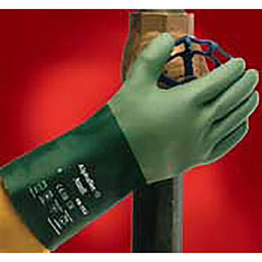 Ansell Scorpio 08-352 Green Chemical-Resistant Gloves