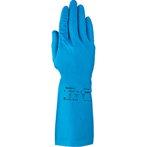 Ansell AlphaTec 37-210 Nitrile Chemical Gloves