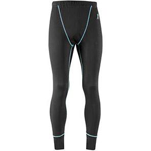 Xcelsius Active Black/Turquoise Short-Sleeve Base Layer Long Johns