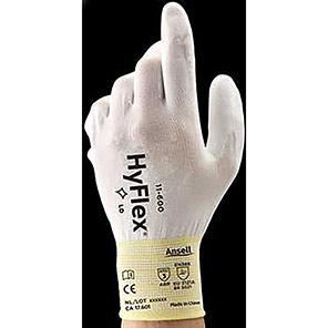 Ansell HyFlex 11-600 White Gloves