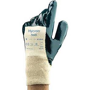 Ansell Hycron 27-600 Nitrile-Coated Gloves