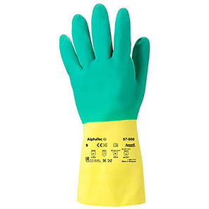 Ansell AlphaTec 87-900 Chemical-Resistant Gloves