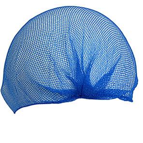 Aburnet HairTite Standard Blue Metal-Free Hairnets (Pack of 100)