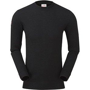 PULSAR XFRC101 Black Long-Sleeve Flame-Retardant T-Shirt