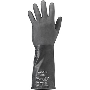 Ansell AlphaTec 38-514 Chemical Gloves
