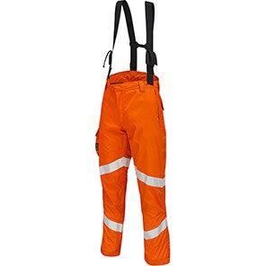 ProGARM 9622 Lightweight Orange Hi-Vis Electric-Arc Waterproof Trousers
