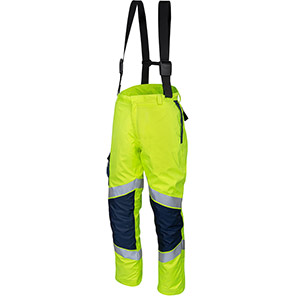 ProGARM 9820 Lightweight Yellow Hi-Vis Electric-Arc Waterproof Trousers